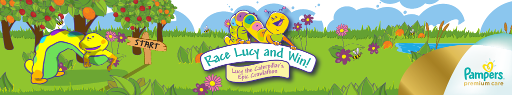 Lucy The Caterpillar – Crawl-a-thon